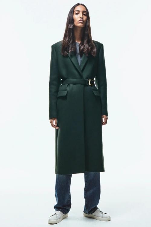Zara - Manteau avec ceinture
