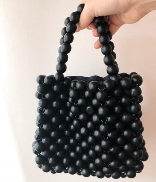 Moune Paris - Sac en perles
