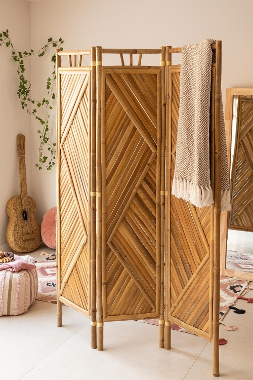 Sklum - Paravent bambou