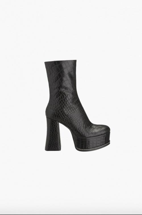 Zara - Bottines à plateforme