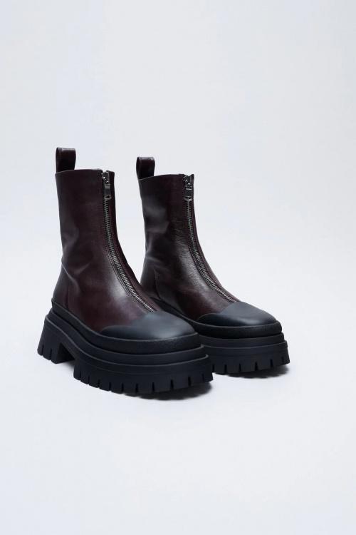 Zara - Bottines avec zip