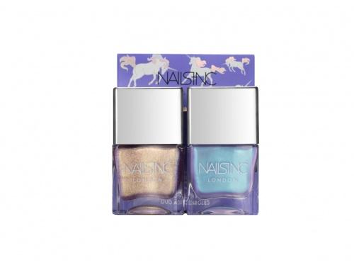 NailsInc - Duo Sparkle like a Unicorn