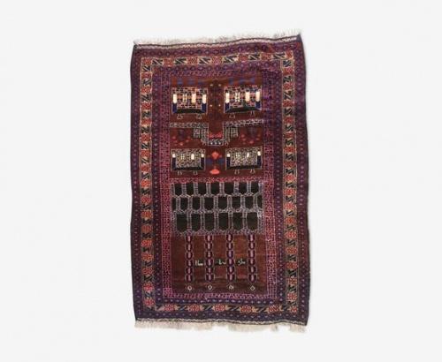 Selency - Tapis oriental pure laine