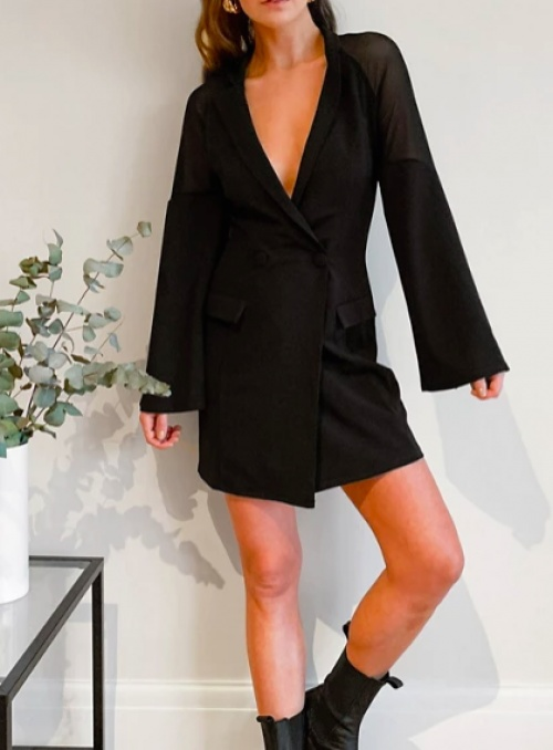 Asos DESIGN - Robe smoking