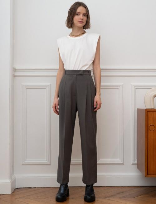 Pixie Market - Pantalon gris