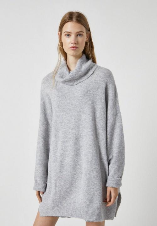 Pull&Bear - Robe pull col roulé
