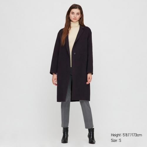 Uniqlo - Manteau en laine