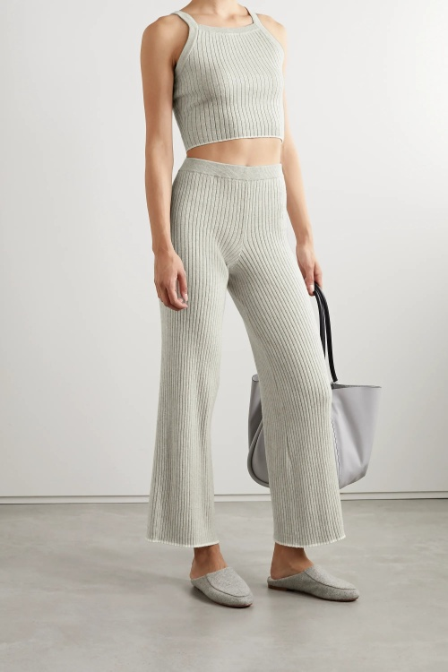 Skin - Pantalon en maille