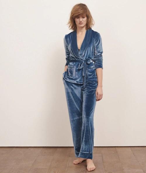 Etam - Veste pyjama en velours