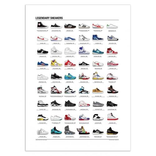 Maison du Monde - Poster baskets