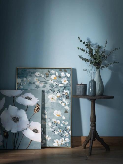 Maison du Monde - Toile imprimé floral