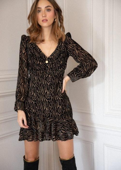 Opullence Paris - Robe en velours