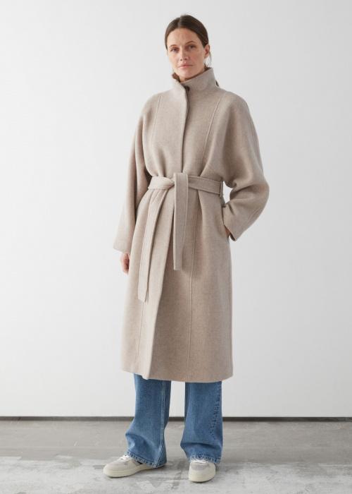 &OtherStories - Manteau en laine
