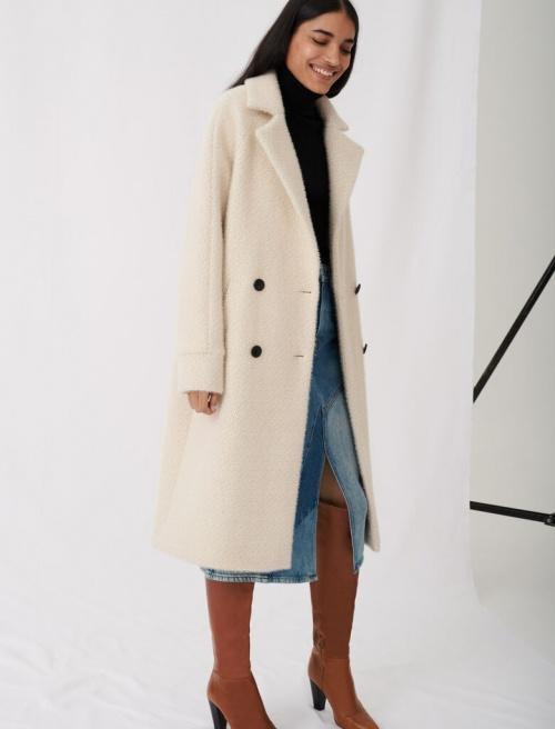 Maje - Manteau en laine