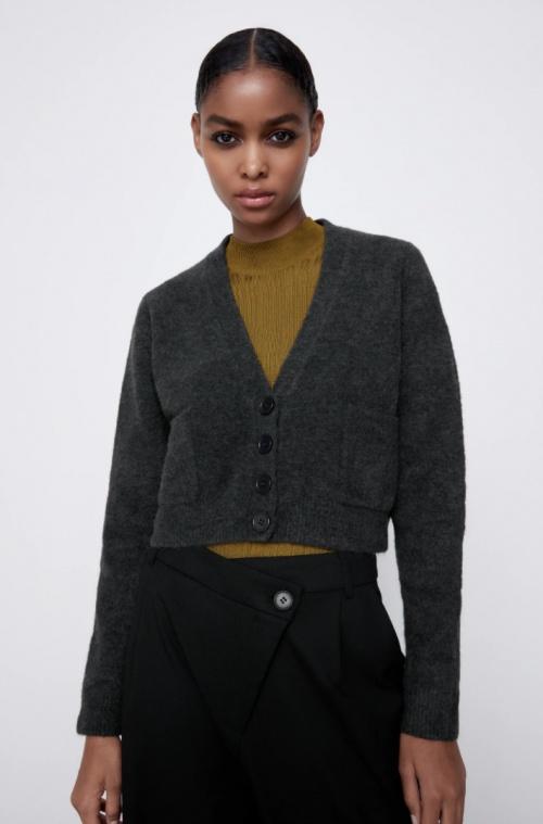Zara - Gilet en maille
