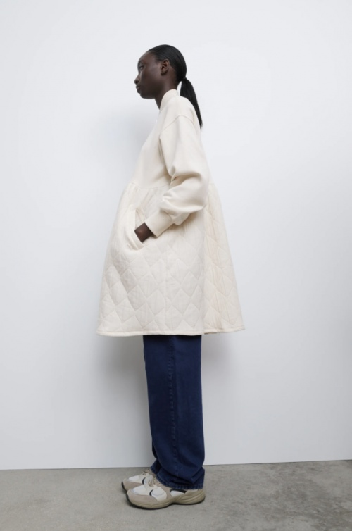 Zara - Manteau bimatière