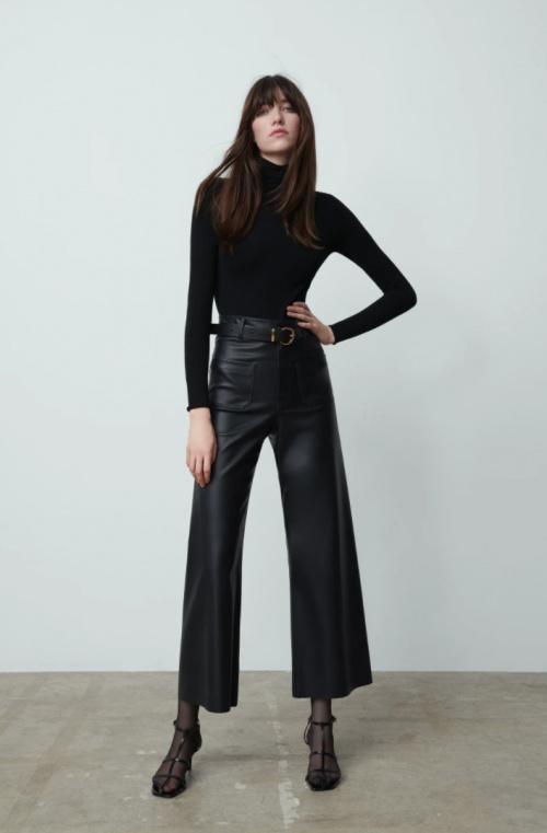 Zara - Pantalon évasé