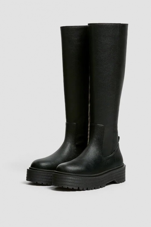 Pull and Bear - Bottes crantées