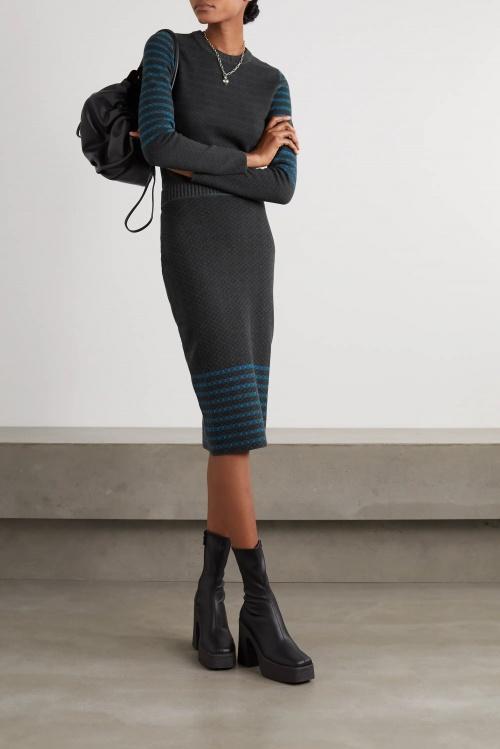 Victoria Beckham - Jupe en maille