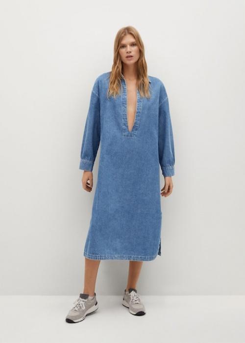 Mango - Robe en jean