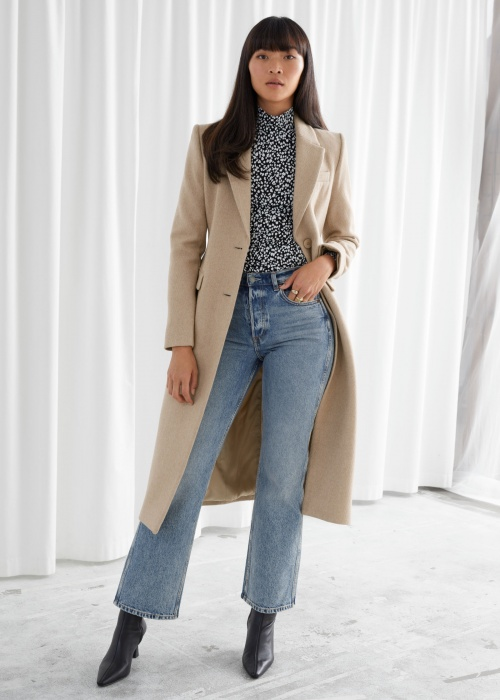 &Other Stories - Manteau beige