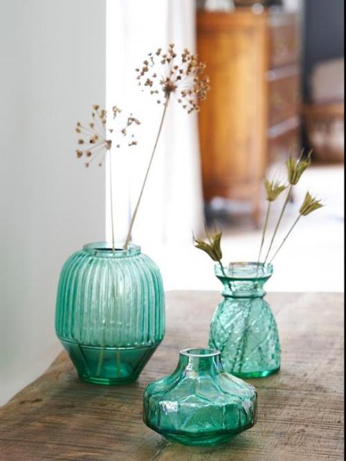 Cyrillus - Lot de trois vases