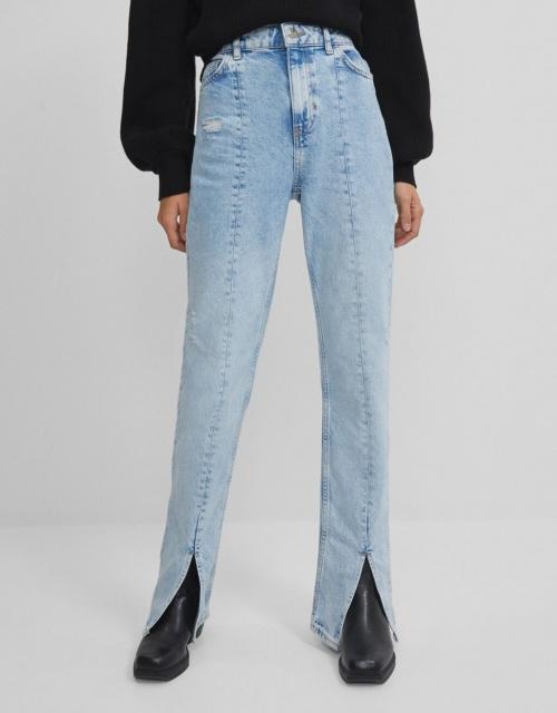 Bershka - Jeans fentes bas