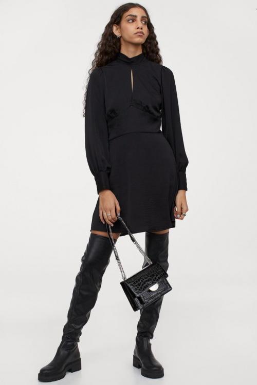 H&M - Robe avec dos ouvert