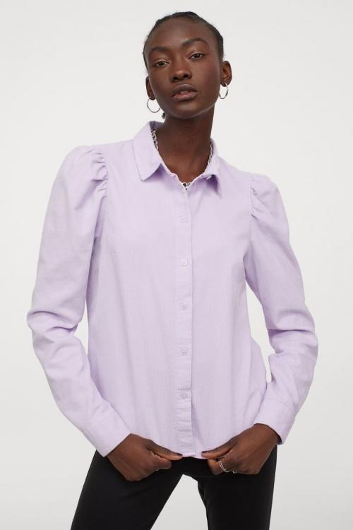 H&M - Chemise à manches bouffantes