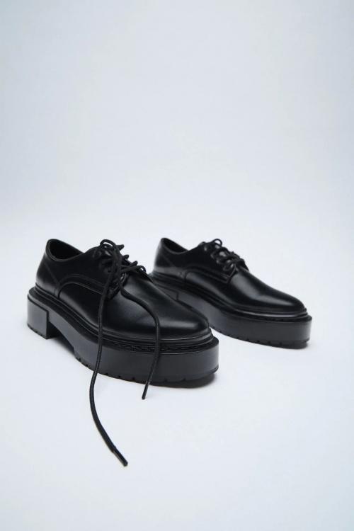 Zara - Chaussures semelle track