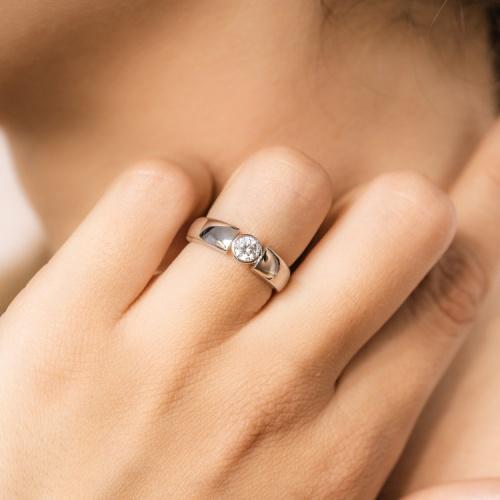 Amantys Paris - Bague de fiançailles