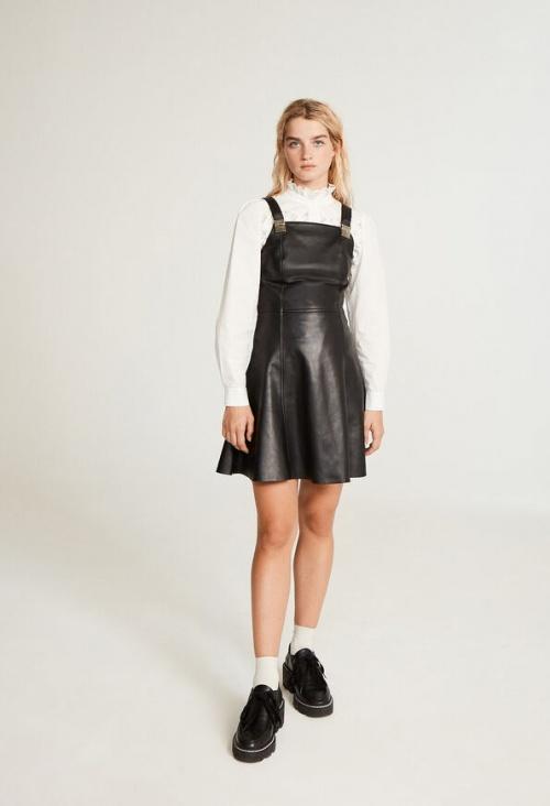 Claudie Pierlot - Robe en cuir