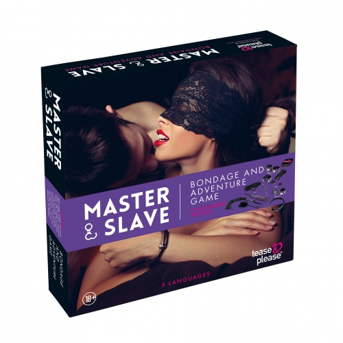 Tease & Please - Jeu Bondage Master & Slave