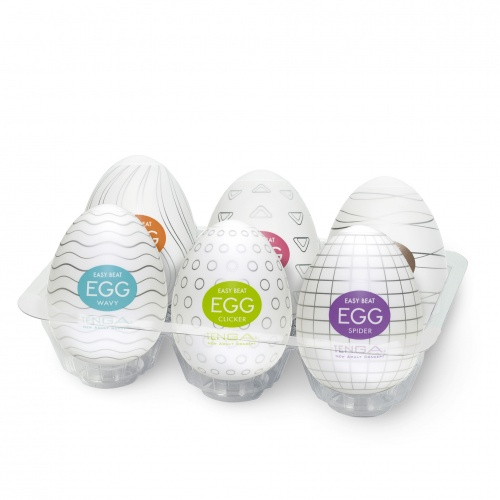 Tenga - Oeufs Tenga Boîte de 6 - Eggs Différents