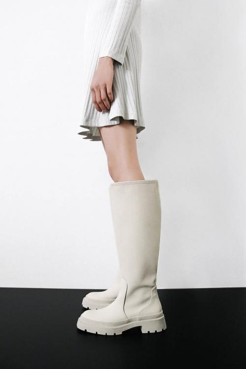 Zara - Bottes gommées