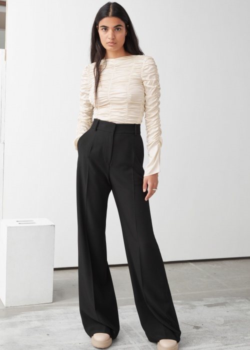 &Other Stories - Pantalon wide flared