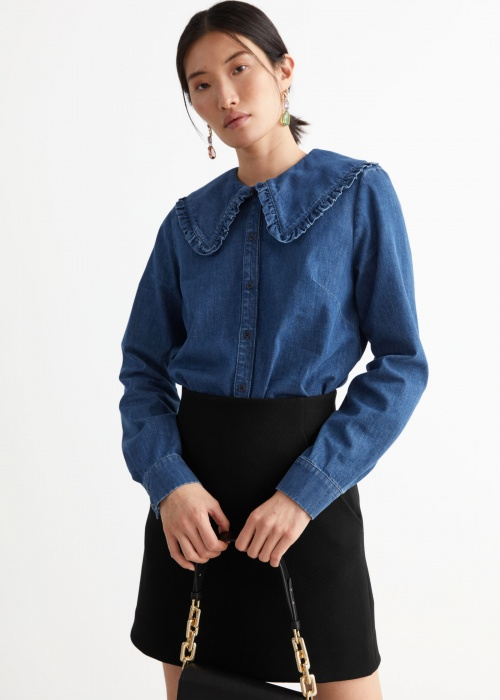 &Other Stories - Chemise en denim