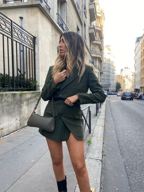 Ava Be - Ensemble blazer jupe