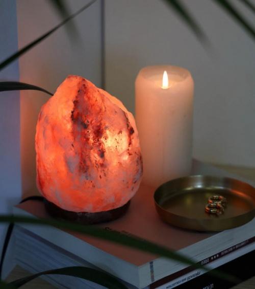 L'avant gardiste - Lampe de sel rose