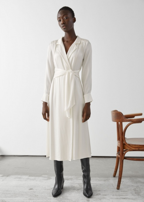 &Other stories - Robe longue