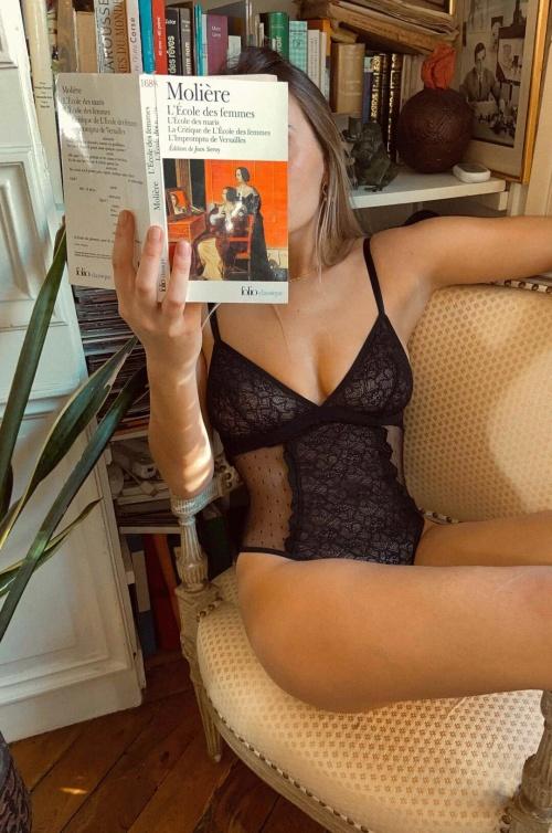 Mood Paris - Body dentelle ajustable