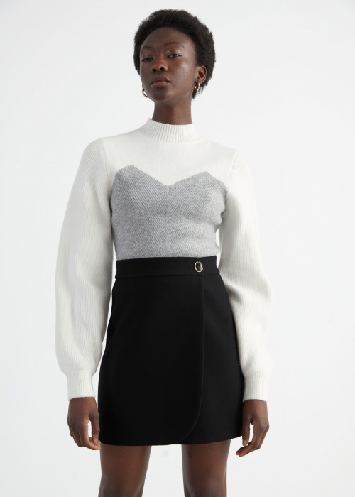 &Other Stories - Pull colorblock
