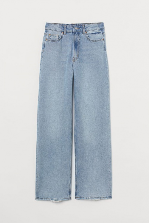 H&M - Wide High Jeans