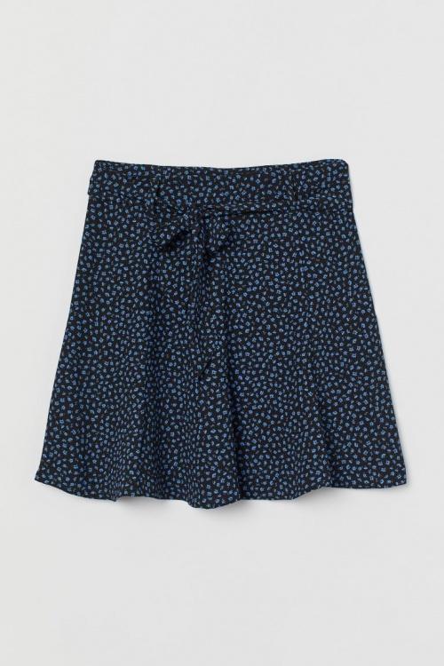 H&M - Jupe courte fleurie