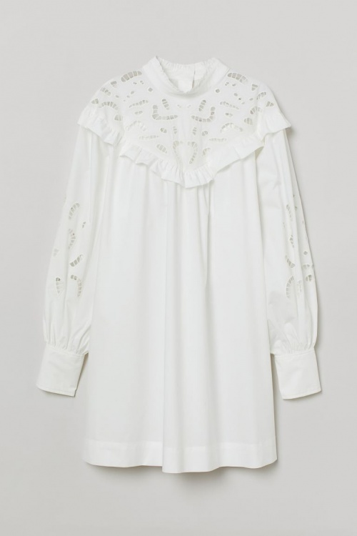 H&M - Robe en broderie anglaise