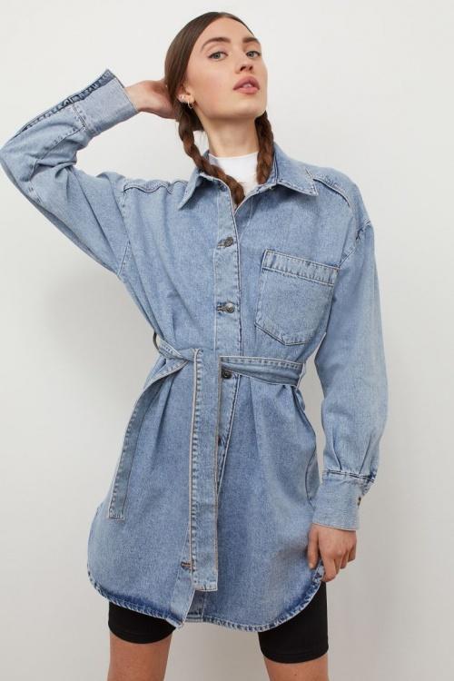 H&M - Robe chemise en coton