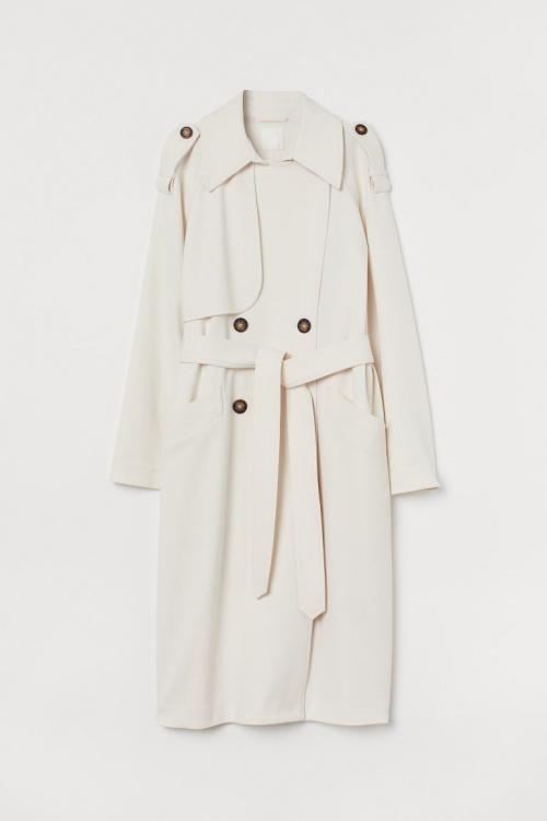 H&M - Trench coat croisé