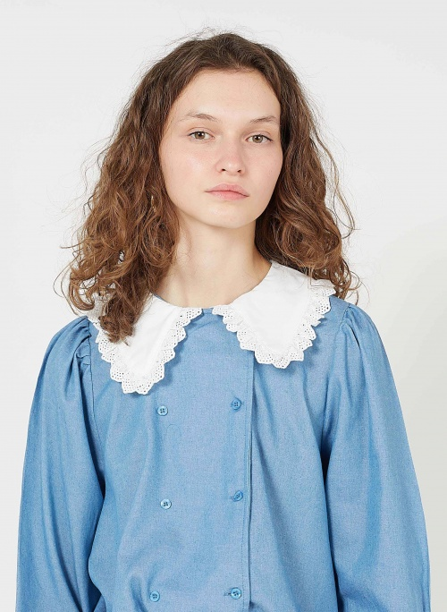 An'ge - Chemise col Claudine
