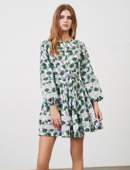 Maje - Robe fleurie