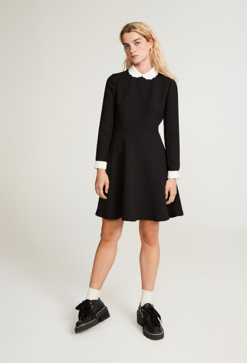 Claudie Pierlot - Robe patineuse col Claudine